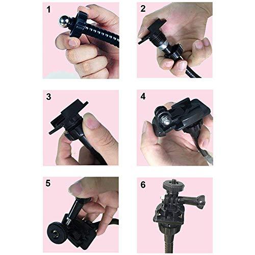 25 inch Flexible Desktop Jaw Long Arm Clamp Clip Mount Holder for Logitech Brio 4K, C925e,C922x Webcam