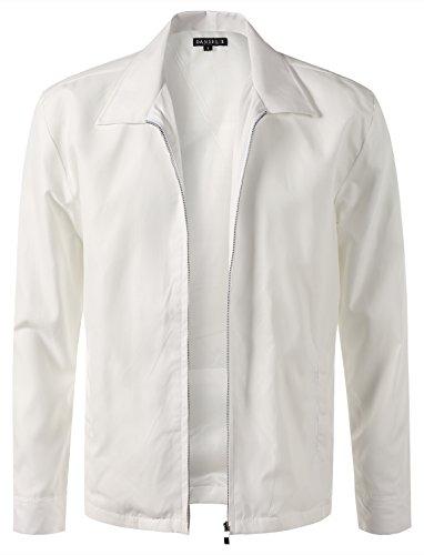 Mens White Jacket - 9