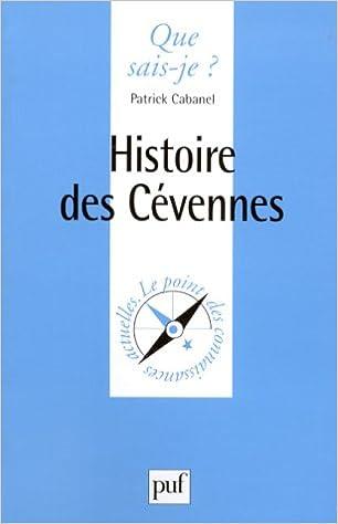 Livres Histoire des Cévennes pdf epub