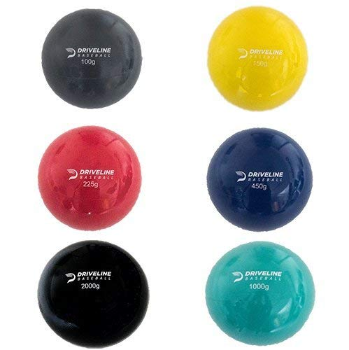 [定休日以外毎日出荷中] Driveline 6 of PlyoCareボール: 重みのあるプライオボール Set 野球の腕のケアとベロシティトレーニング用 Set of 6 B078SKPW1M, エスエール:5e996f66 --- arianechie.dominiotemporario.com