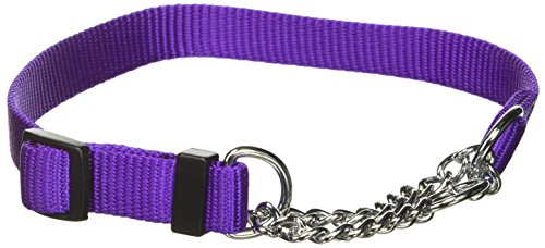 OmniPet Nylon Chain Martingale Adjustable Training Collar, 10-16