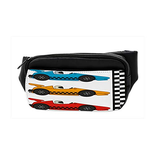Travel Waist Pack,travel Pocket With Adjustable Belt Colorful Easter Rabbit Egg Leaves Running Lumbar Pack For Travel Outdoor Sports Walking