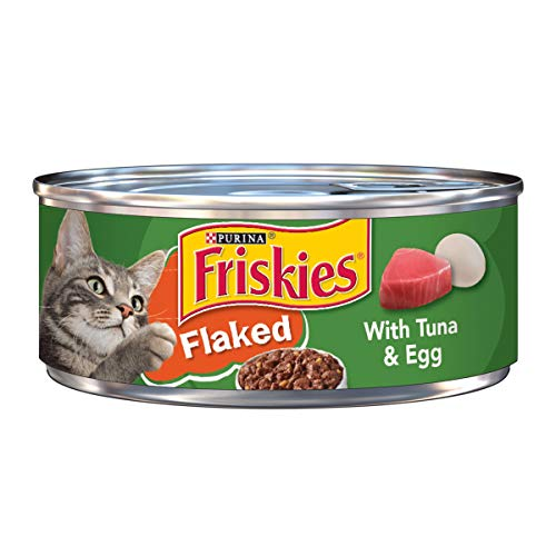 Purina Friskies Flaked With Tuna & Egg Wet Cat Food -  5.5 O