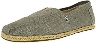 TOMS Men's Classic Linen Grey Ankle-High Canvas Slip-On Shoes - 10.5M (B013EUOQP2) | Amazon price tracker / tracking, Amazon price history charts, Amazon price watches, Amazon price drop alerts