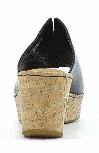 B.O.C. Womens Aria Open Toe Casual Platform Sandals Black NbaU6ONn