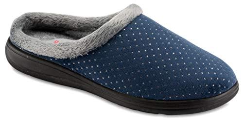 Blu Donna Da 5208 Pantofole Art Invernali Ciabatte sabot Tiglio qpwO8U