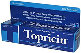 product image for Topricin Pain Relief and Healing Cream 2 oz (Pack of 5)