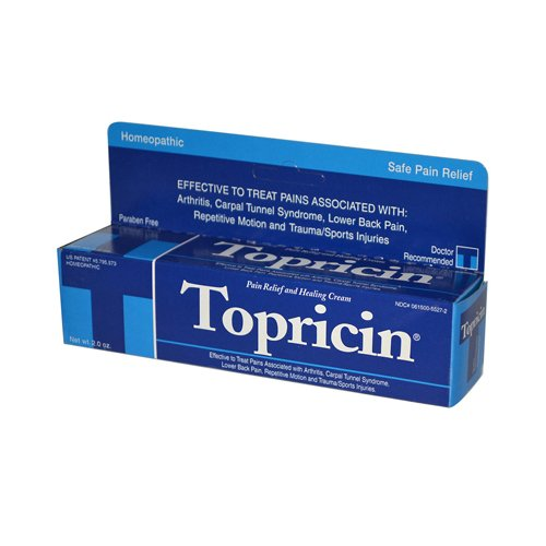Bulk Saver Pack 8x2 OZ : Topricin Anti-Inflammatory Pain Relief Cream