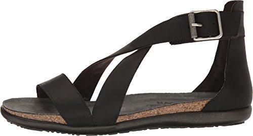 Naot Footwear Women's Rianna Oily Coal Nubuck Sandal by Naot Footwear (Image #1)