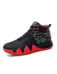 JiDesm Newst Athletic Mens Kyrie 4 Air Basketball Shoes Big Sizes Trainer Breathable Outdoor Sport Shoes Men Lebron high top Sneakers