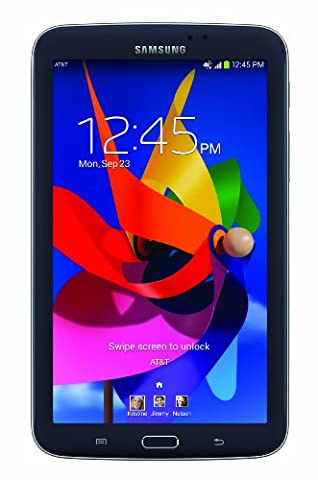 Samsung Galaxy Tab 3 7.0 T217A 16GB AT&T GSM 4G LTE Dual-Core Tablet PC - Black (Tablet Samsung Tab 3 Gsm)