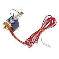 MonkeyJack Metal J-head V6 Hotend 1.75mm Filament 0.4 mm Nozzle Extruder for 3D Printer from MonkeyJack