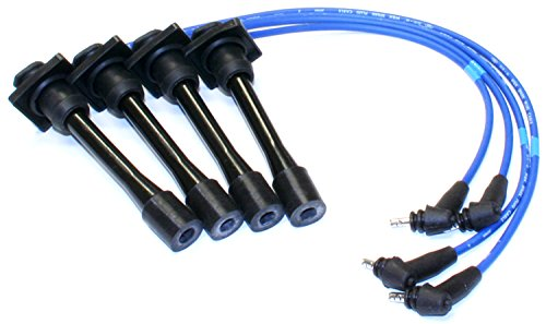 Spark Plug Wire Assembly - NGK (8128) TE41 Wire Set