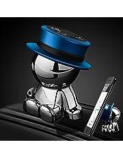 Samochodowy uchwyt na telefon magnetyczny, uchwyt samochodowy na deskę rozdzielczą uniwersalny do akcesoriów samochodowych dekoracja domu (niebieski)