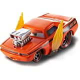 Disney Cars Diecast - Snot Rod with Flames [Jouet]