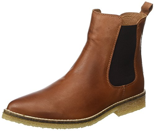 Bianco Effect Chelsea Son16, Zapatillas de Estar por Casa para Mujer Marrón - Braun (Light Brown/24)
