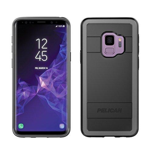 Samsung Galaxy S9 Case - Pelican Protector Case for Samsung Galaxy S9 (Black/Light Grey)