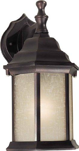 - Forte-1LT Cast Al Outdoor Lantern-1725-01-32