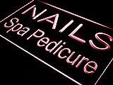 ADVPRO i357-r Nails Spa Pedicure Beauty Salon Neon Light Sign