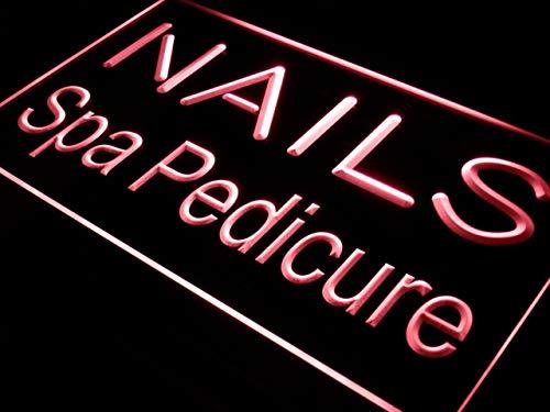ADVPRO Cartel Luminoso i357-r Nails SPA Pedicure Beauty ...