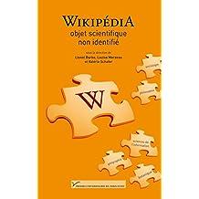 Wikipédia, objet scientifique non identifié (Sciences humaines et sociales)