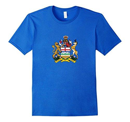 Men's Alberta Provincial Coat Of Arms | Canada  Pride T-shirt XL Royal ()
