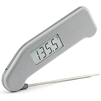 ThermoWorks Super-Fast Thermapen (Gray) Professional Thermocouple Cooking Thermometer