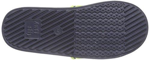 Lico Barracuda V - Zapatillas De Agua de material sintético niños azul - Blau (marine/lemon)