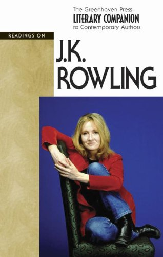 Read Online JK Rowling (hardcover edition) (Literary Companion to Contemporary Authors) ebook