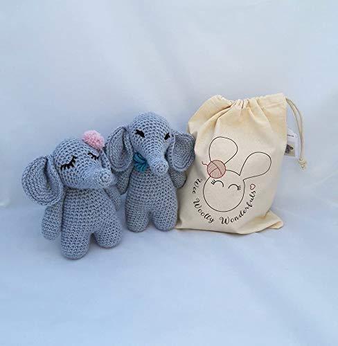 Free Baby Elephant Crochet Pattern | 500x488