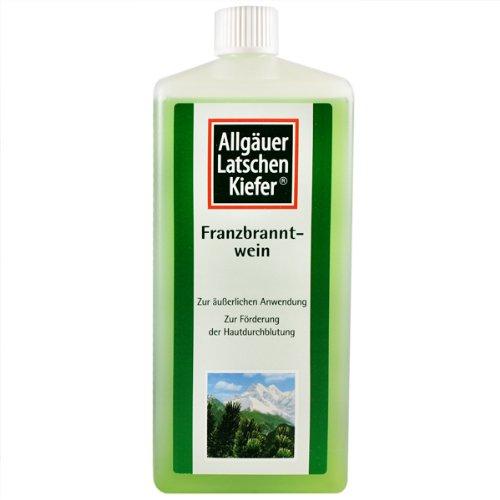 Allgauer Franzbranntwein Extra Stark (Dwarf Pine Body Rub) 1000ml by Allgauer