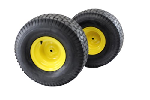 Antego Tire & Wheel (Set of 2) 20x10.00-8 Tires & Wheels 2 Ply for Lawn & Garden Mower Turf Tires ()