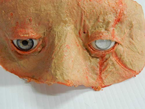 Dead Head Props Halloween Prop Cut Off face Blind Eye of -