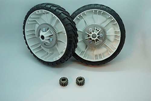 (Genuine OEM Toro 115-4695 wheel conversion kit for Toro Recycler RWD 2009-2014)