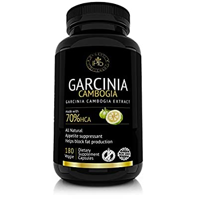 Premium Garcinia Cambogia Extract with HCA,Extra Strength 1600 mg ,180 Capsules,Natural Appetite Suppressant ,Fast Weight Loss Supplement,Fat Burner,carb blocker,Best Garcinia Cambogia Raw Diet Pills