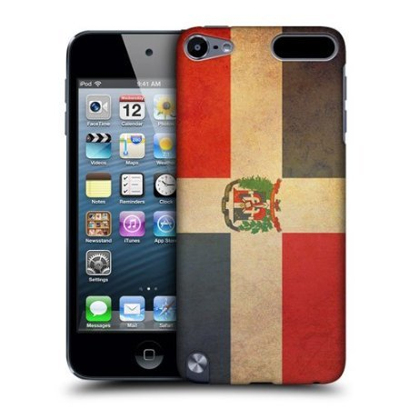 Head Case Dominican Republic Vintage Flags Case For Apple iPod Touch 5G 5th Gen
