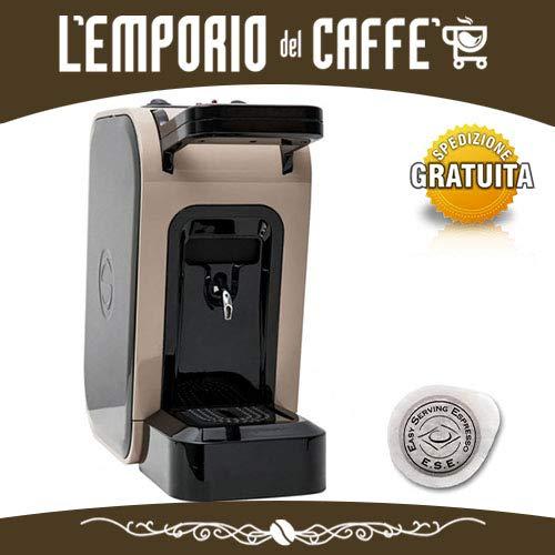 Spinel Ciao - Cafetera de monodosis ESE de 44 mm, filtro de ...