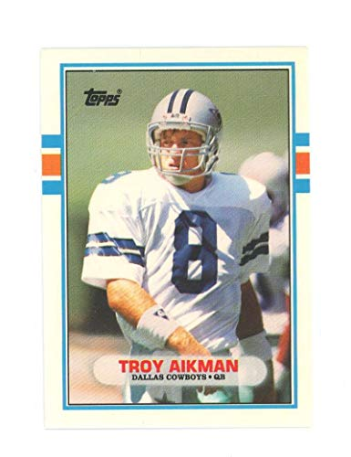 1989 Topps Traded 70t Troy Aikman Rookie Card Near Mint Condition Ships in New ()