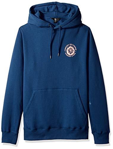 Volcom Men's Supply Stone Pullover Hooded Sweatshirt, LTWT Vintage Small
