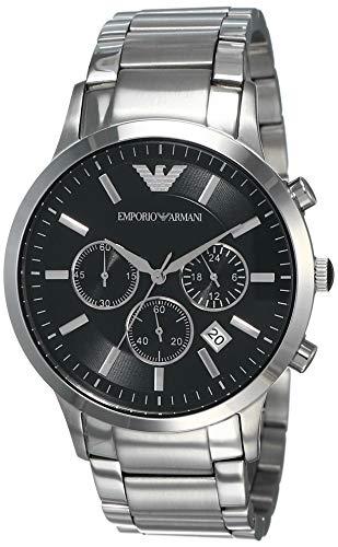 Emporio Armani Men's AR2434 Dress Silver Watch (Emporio Watch)