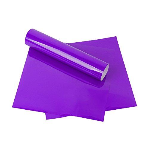 RUSPEPA Heat Transfer Vinyl HTV - Iron On for Silhouette Cameo & Cricut - HTV for Fabrics and Hats - 12x12Inch - 3sheet - -