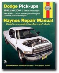 Haynes Dodge Pick-ups (94 - 01) Manual