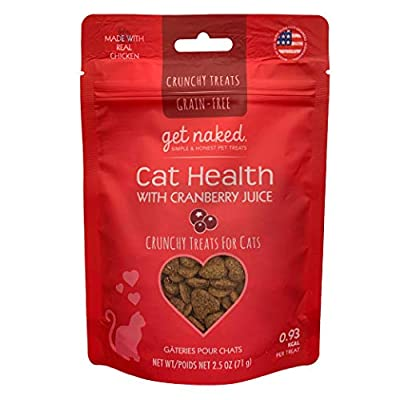 Cat Health Products Get Naked Urinary Health Crunchy Treats For Cats, Cranberries,... [tag]