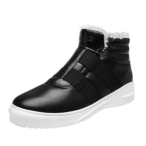 Randonnée Bottines Homme Laiwodun 1 Chaussures Hiver Noir vwSSdq