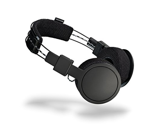 Urbanears Hellas On-Ear Active Wireless Bluetooth Headphones, Black Belt (4091227)