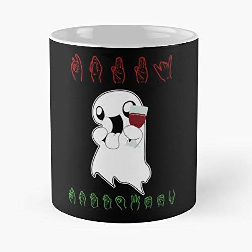 Halloween Costume Happy Sign Language - Coffee Mug Tea Cup Gift 11oz Mugs The Best Gift Holidays. -