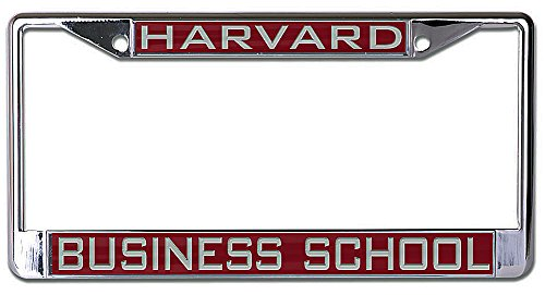 Amazon.com : WinCraft Harvard Business School Metal License Plate ...