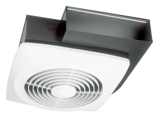 Side Mount Wall Cabinet (Broan 502 Wall-Ceiling Mount Side Discharge Utility Fan, 10-Inch 270 CFM 8.0 Sones)
