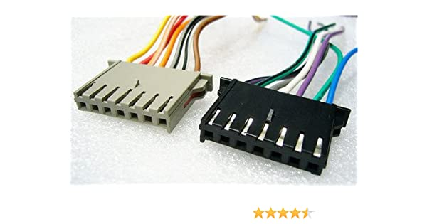 Amazon.com: Stereo Wire Harness OEM Jeep Wrangler 97 98 99 00 01 02 on jeep exhaust gasket, jeep sport emblem, jeep exhaust leak, jeep condensor, jeep intake gasket, jeep key switch, jeep wiring connectors, jeep seat belt harness, jeep gas sending unit, jeep visor clip, jeep electrical harness, jeep tach, jeep carrier bearing, jeep relay wiring, jeep wire connectors, jeep bracket, jeep engine harness, jeep vacuum advance, jeep knock sensor, jeep wiring diagram,