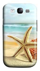 Starfish On The Beach Custom Polycarbonate Plastics Case for Samsung Galaxy S3 / S III/ I9300